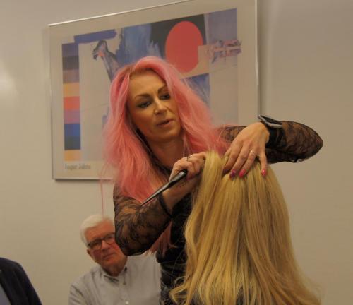 undervisning af kursister, hair integration.