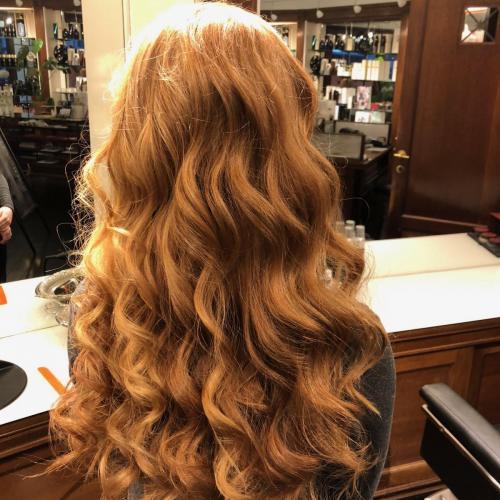 Styling af langt hår