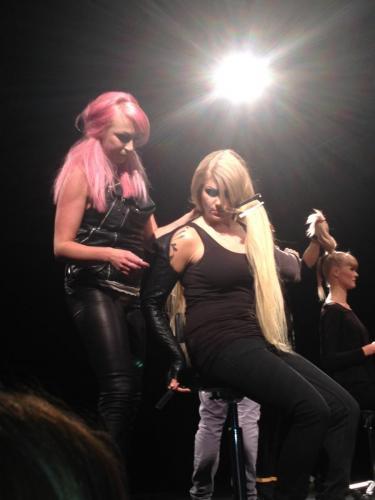On stage med Marcelklubben